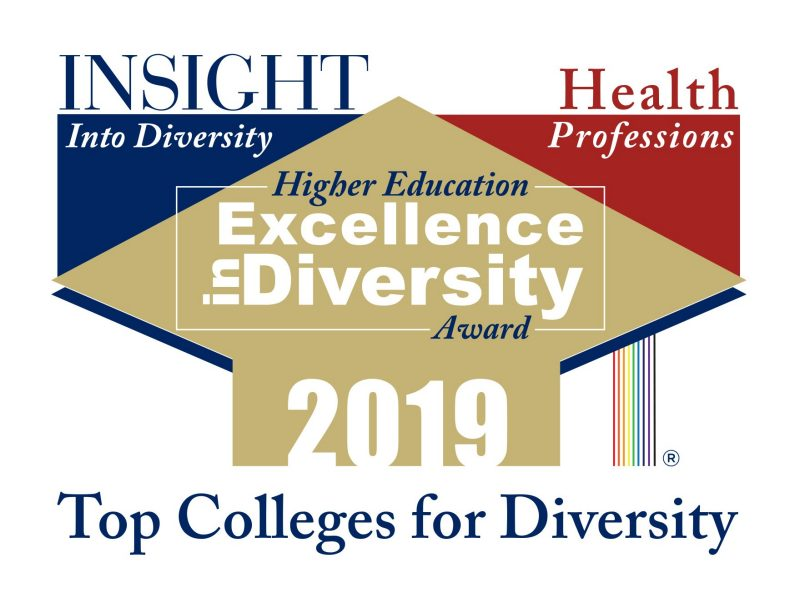 Higher Education Excellence in Diversity award - 2019