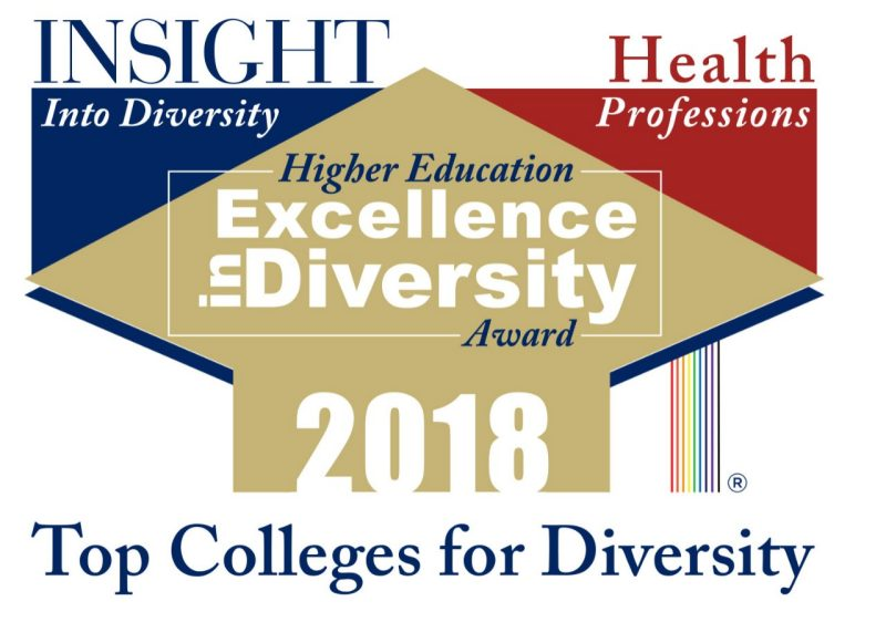 2018 Health Professions - Higher Education Excellence in Diversity