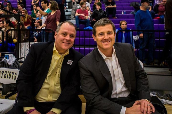 Bo Blankenship and Tim Cone coached the medical student team.