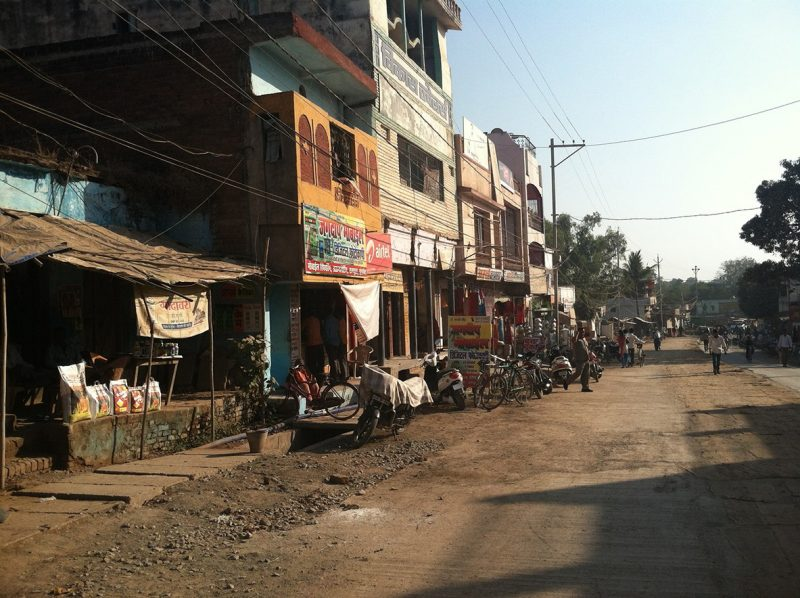 Downtown Mungeli, India
