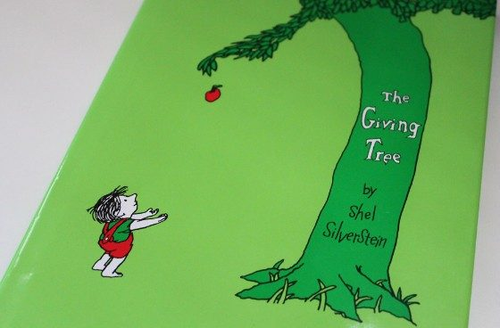 Book Cover for The Giving Tree by Shel Silverstein