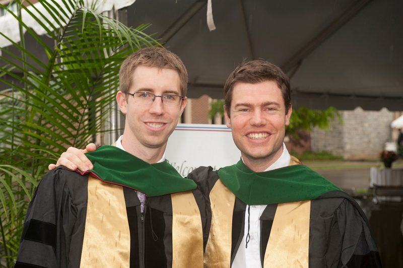 Drs. Travis Thompson and Robert Brown