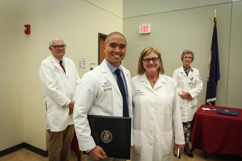 VTCSOM Student Clinician Ceremony Class of 2019